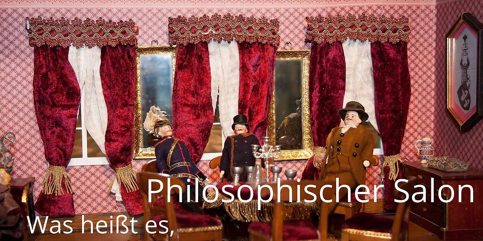 Philosophischer Salon im Juni
