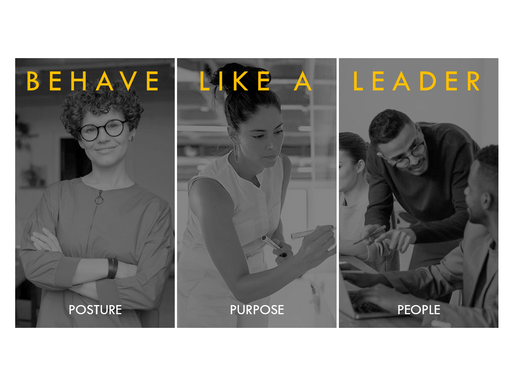 Behave like a leader (even in English)