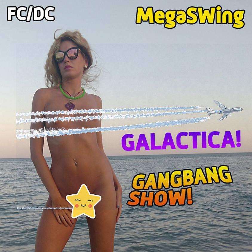 O2, Субботний ГенгБенг от Мегасвинга с 18.00 до 22.30