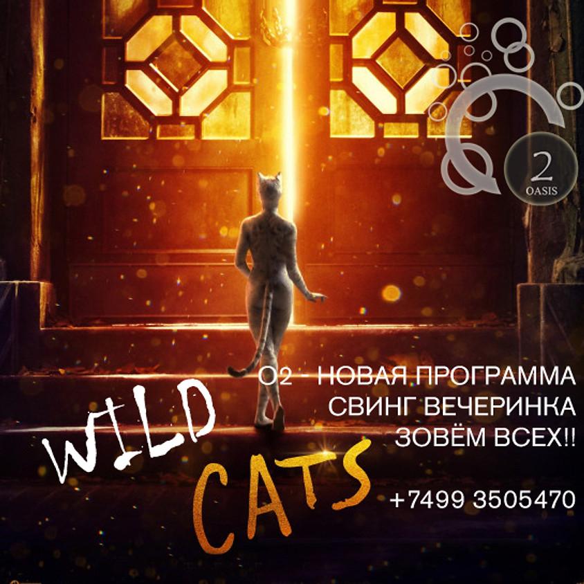 O2, 10 августа, Отвязная свинг вечеринка WILD CATS с 22.00