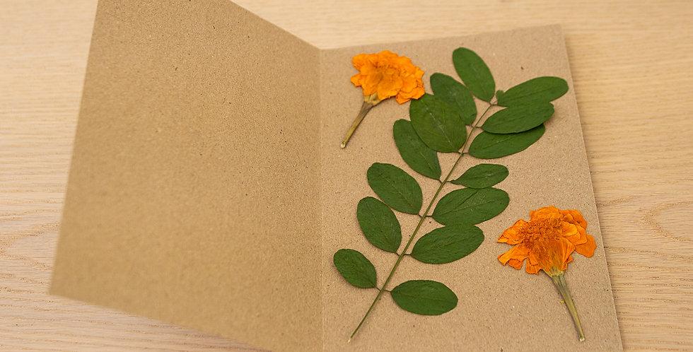 Květinové blahopřání