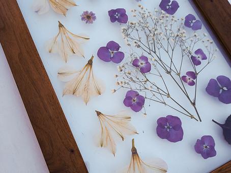 Vyrábíme svatební květinové obrazy!