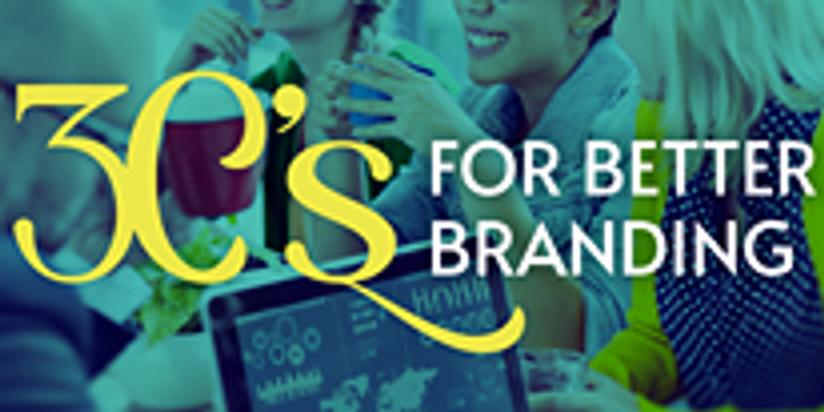 The 3 C's of Branding