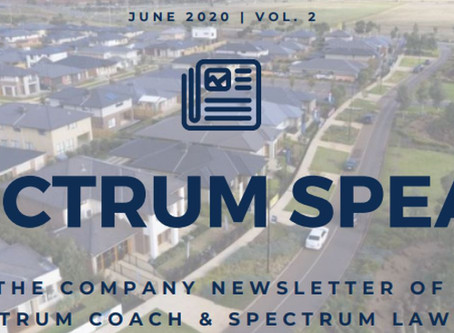 Spectrum Speaks Newsletter – Vol. 2 | June 2020