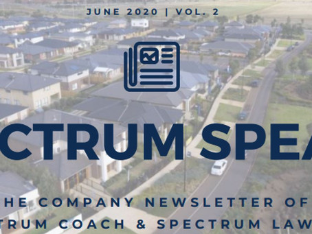 Spectrum Speaks Newsletter – Vol. 2 | June 2020