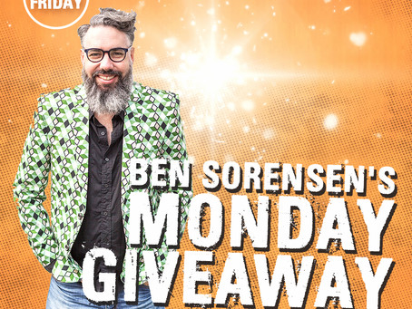 MONDAY GIVEAWAY!