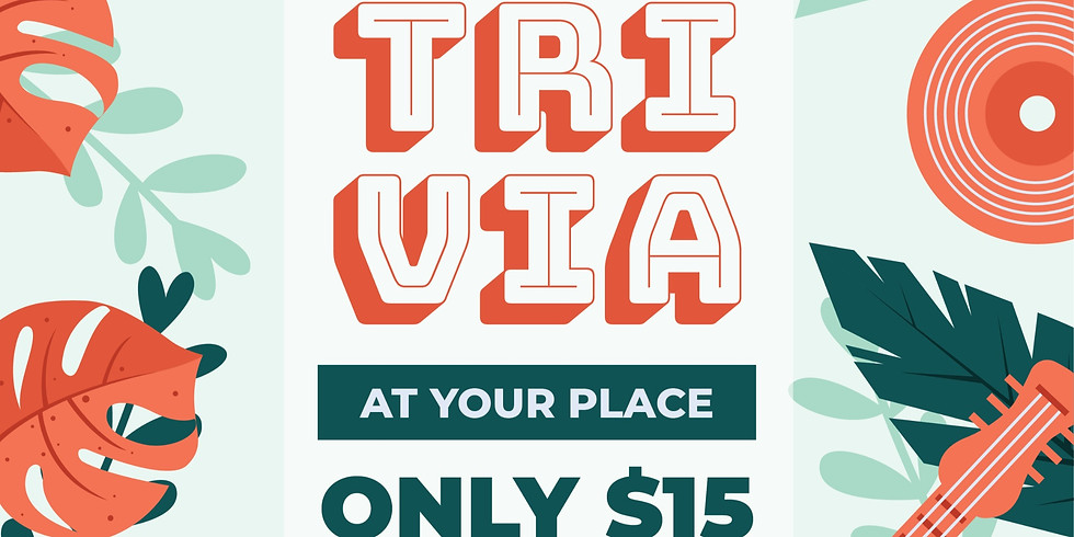 Virtual Trivia At Your Place.