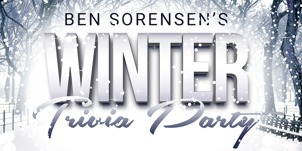 FREE Ben Sorensen's WINTER Trivia Party | 30 JULY 2020