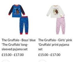 Gruffalo Boy v Gruffalo Girl