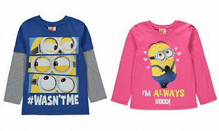 Minions Boys and Girls Top Versions