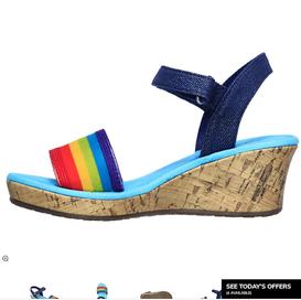 Sketchers Tiki Wedge Sandals