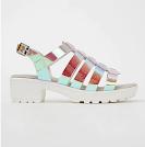 George Asda Holographic Heeled Sandals