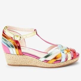 Next Rainbow Wedge Sandals