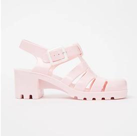 George Asda Pink Jelly Sandals