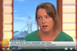 Cheryl on Good Morning Britain