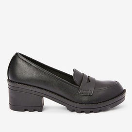 Next Chunky Heel Loafers
