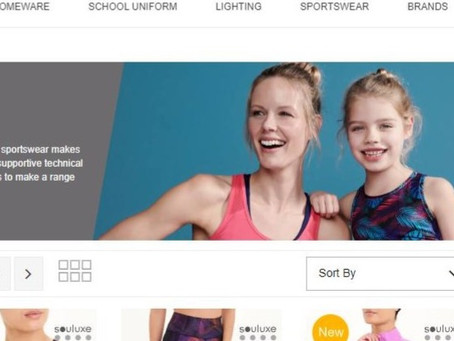 New Year, New You? Buy Activewear! (but leave young girls alone, eh Matalan?)