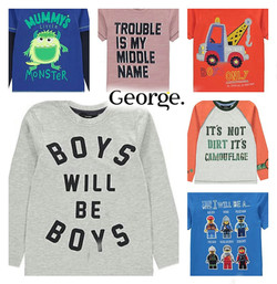 Boys will be... at George