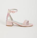 Sainsbury TU Pink Pearlescent Ankle Sandles