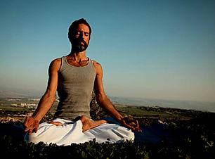 Yoga Man Meditation
