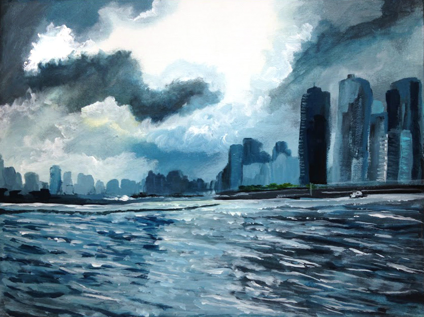 Chicago Skyline - $50