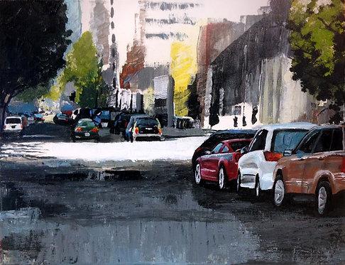 Sun, Shade, and Cars