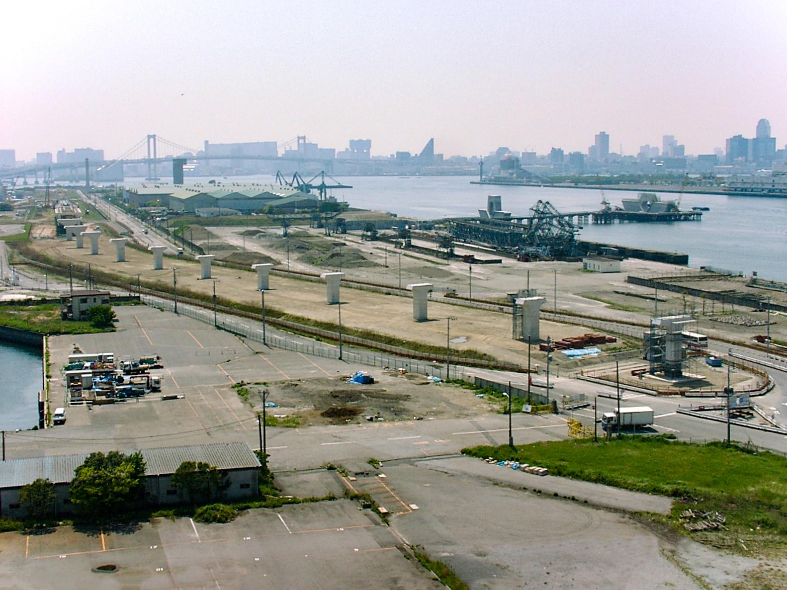 新交通臨海線延伸下部工事