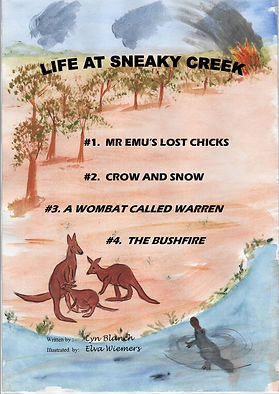 Lyn blanch author, children's books, Australian Bush animals