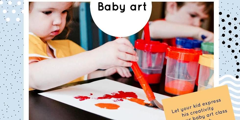 Baby art chez Mama'lou