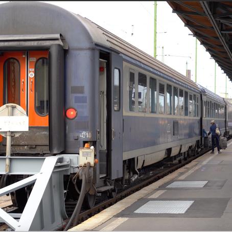 Ister Train (EN 473) Sleeper Train Budapest - Bucharest Review
