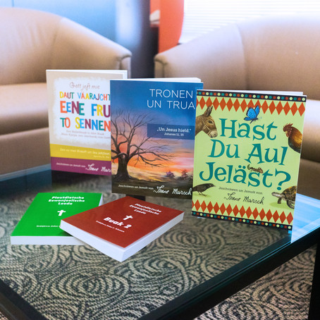 Low German Books Shipping to Texas
