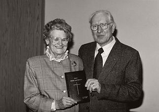 36 John J & Margaret Neufeld & L.G. bible_B&W.jpg
