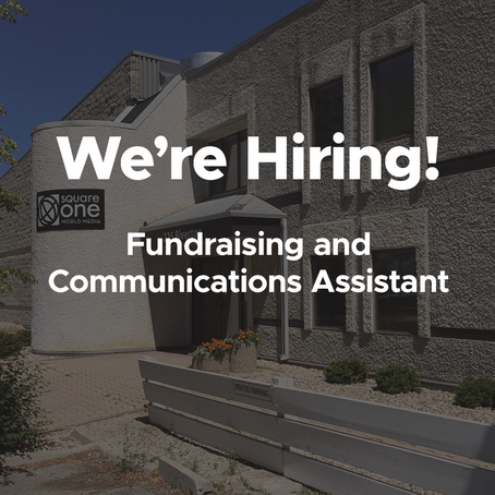 Job Opportunity: Fundraising & Communications Assistant