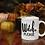 Thumbnail: Witch, Please Halloween White glossy mug
