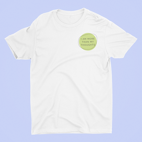 Affirmation Short-Sleeve Unisex T-Shirt, I Am More Than My Thoughts