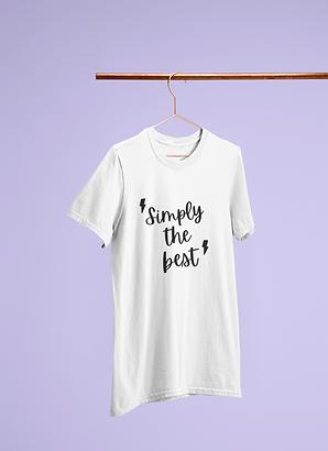 Simply The Best Short-Sleeve Unisex T-Shirt