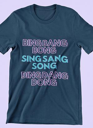 Bing Bang Bong, UK, Hun? Short-Sleeve Unisex T-Shirt