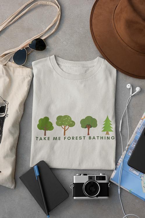 Take Me Forest Bathing Short-Sleeve Unisex T-Shirt