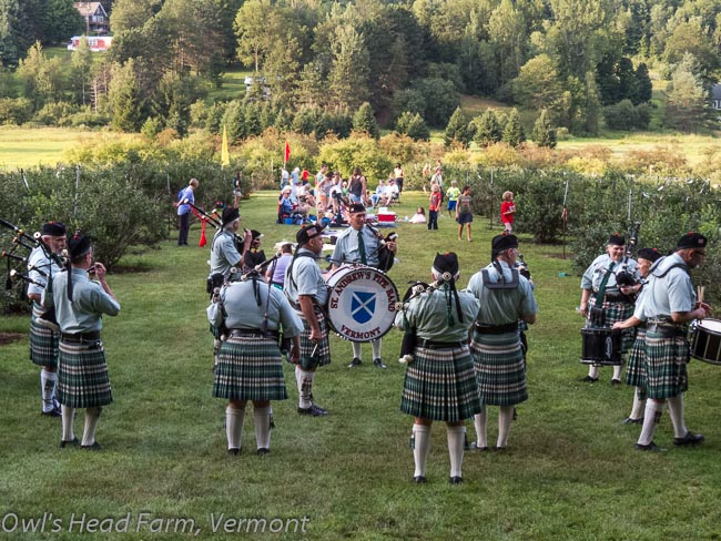 St. Andrew's Pipeband of Vermont