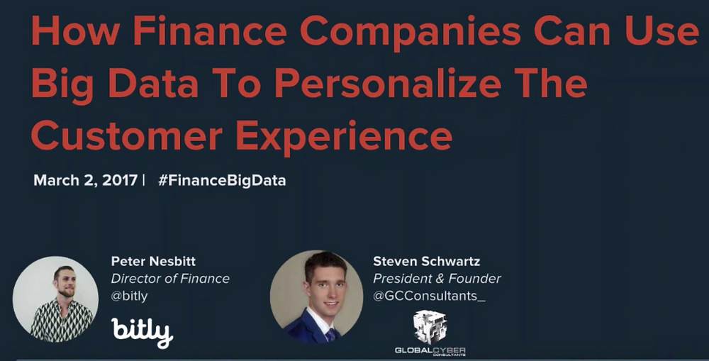 Big Data and Finance