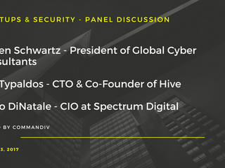 """Global Cyber Consultants President Steven Schwartz to Discuss """"Startups and Security"""" amon"""