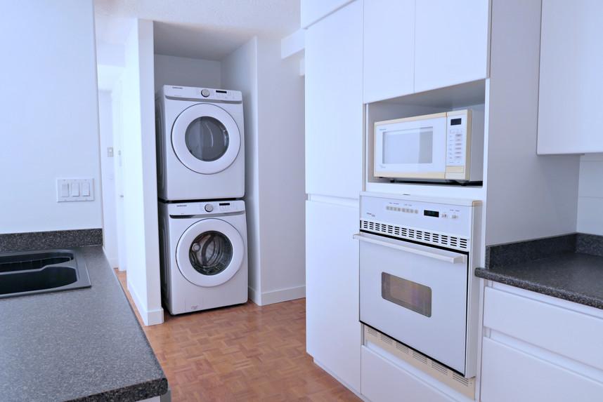厨房, 洗衣乾衣機