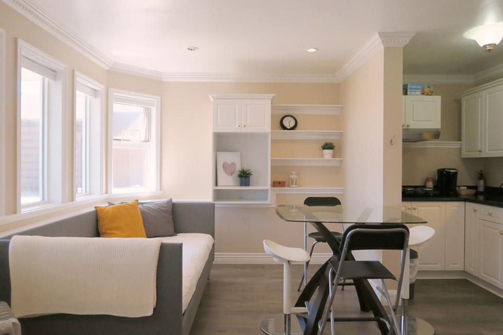 厨房,客廳