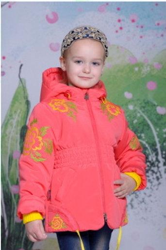 3102 Куртка для девочки