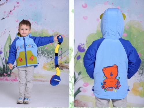 3104 Куртка для мальчика