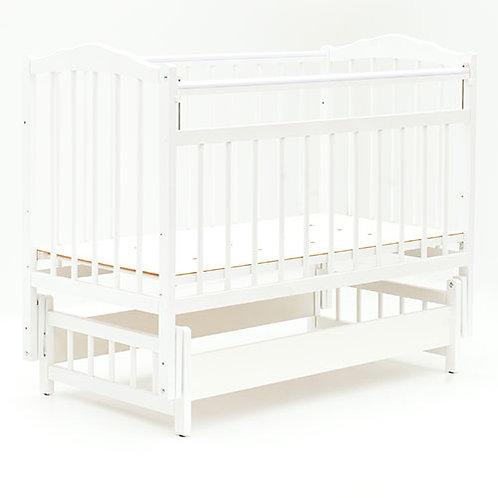 Кроватка детская BAMBINI 120*60 маятник поперечный