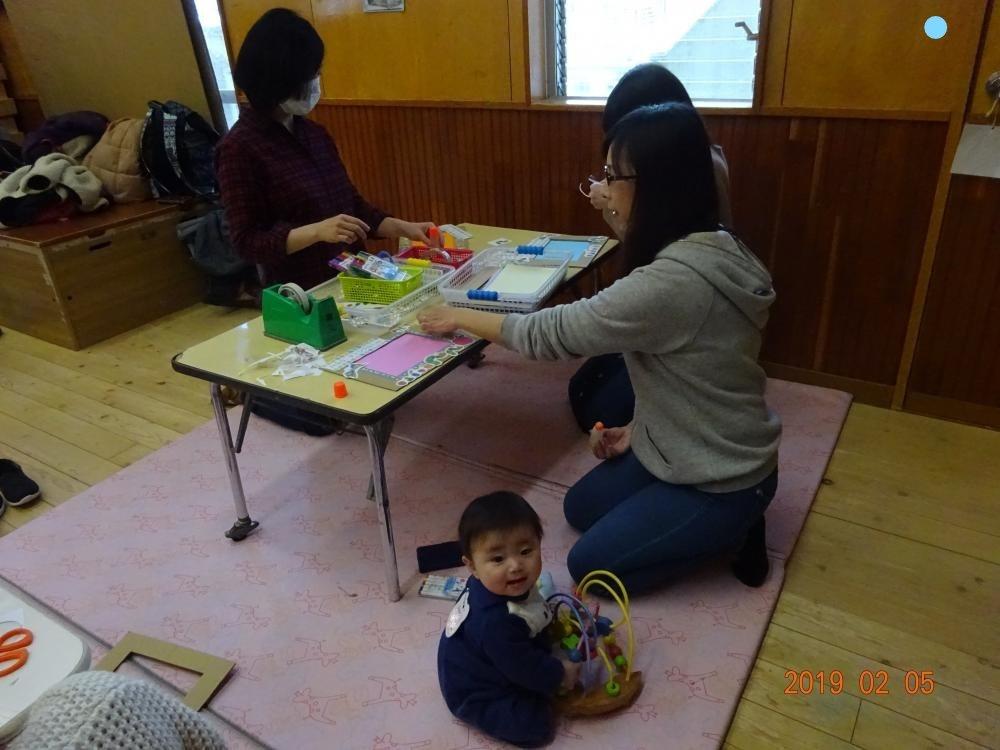 ティンクルーム3月2日(火)ひな人形作り