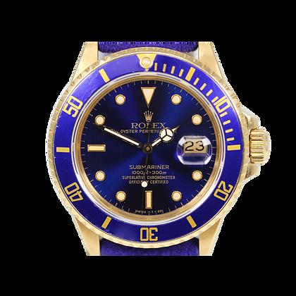 Rolex Submariner 16808 18k Yellow Gold