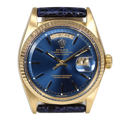 Rolex Day-date Vintage 1803 18k Yellow Gold
