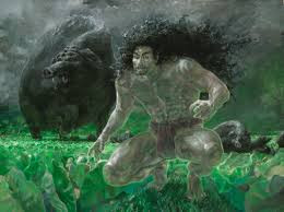 The legend of the Hog God.